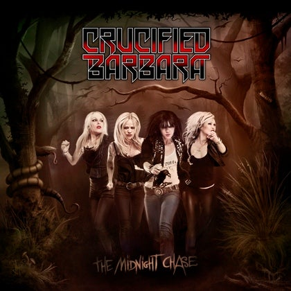 Image of CRUCIFIED BARBARA - The Midnight Chase - CD Cristal