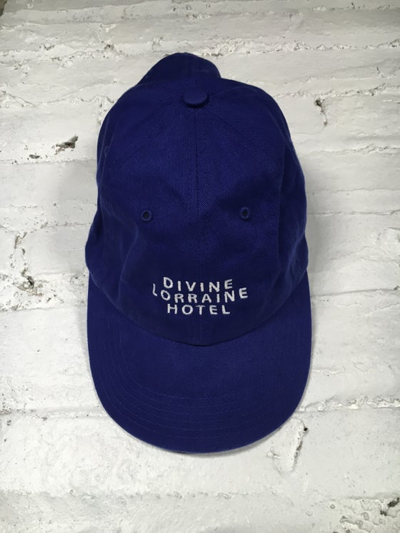 Image of DIVINE POLO HAT (ROYAL BLUE)