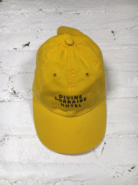 Image of DIVINE POLO HAT (YELLOW)