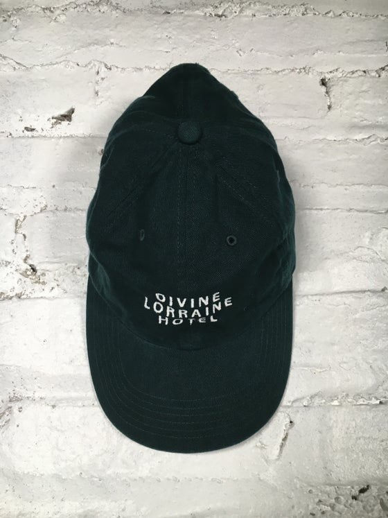 Image of DIVINE POLO HAT (HUNTER GREEN)