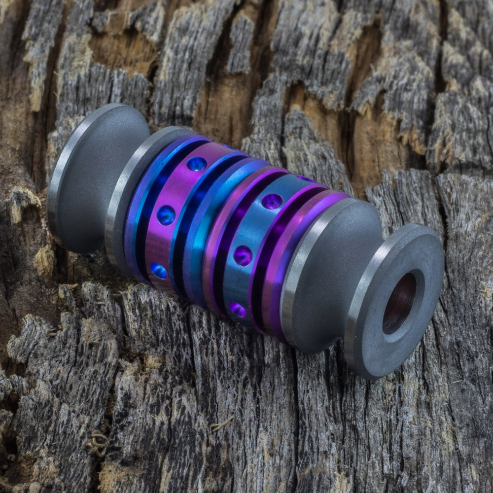Image of  Satin Blasted & Anodized Quad Bead Set #1
