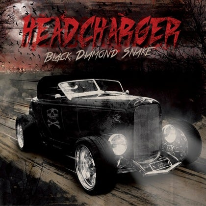 Image of HEADCHARGER - Black Diamond Snake - Digipack CD