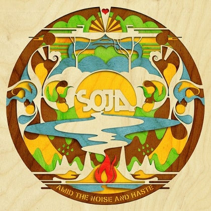 Image of SOJA - Amid the Noise and Haste - Digipack CD