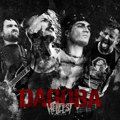Image of DAGOBA - Hellfest MMXIV (2014) - Digipack CD + DVD