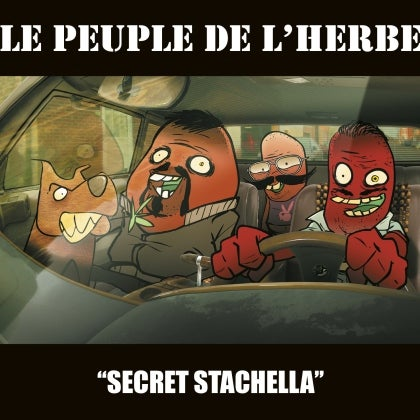 Image of LE PEUPLE DE L'HERBE - Secret Stachella - Disque Vinyle