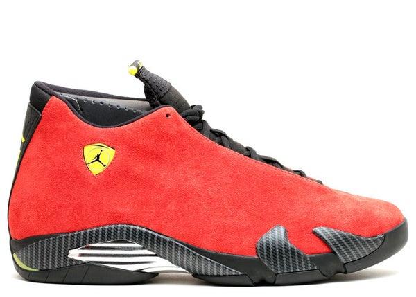 Image of Air Jordan XIV (14) Ferrari