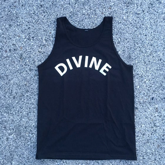 Image of DIVINE ARCH LOGO TANK (BLACK)