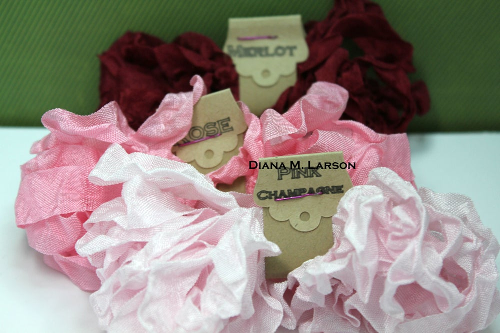 Image of Vintage Vineyard -crinkle ribbon