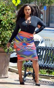 Image of SOLANGE PENCIL SKIRT Plus and Regular size