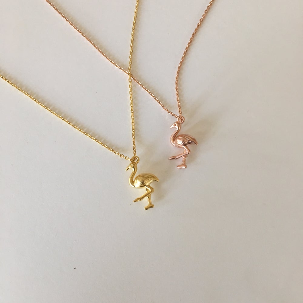 Image of Flamingo Necklace