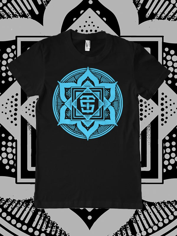 Image of Black/Blue Mandala Logo