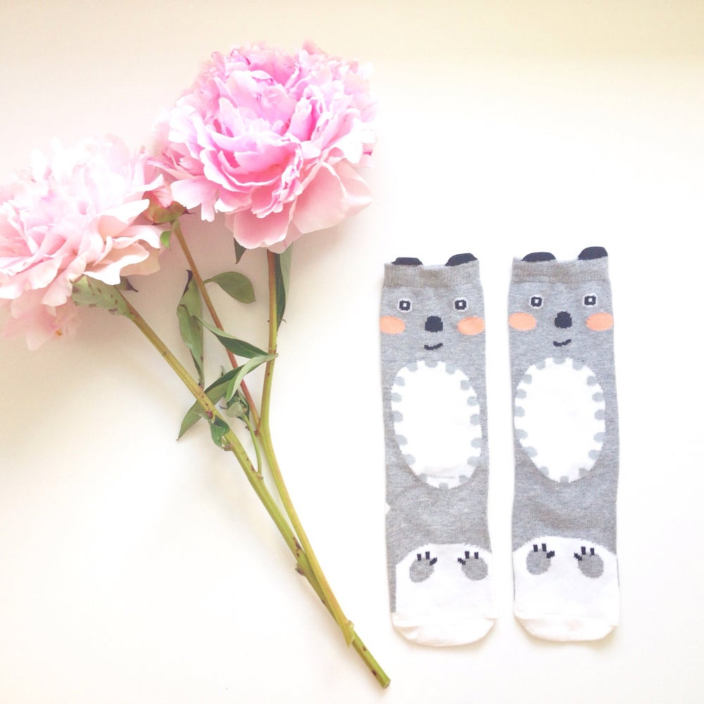 Image of Blushing Koala Socks