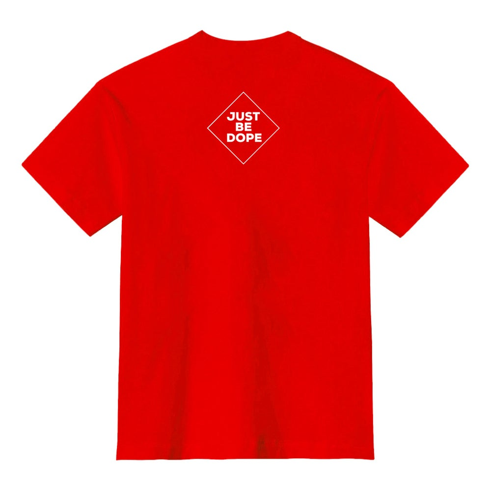 Image of Red I Love Myself tee