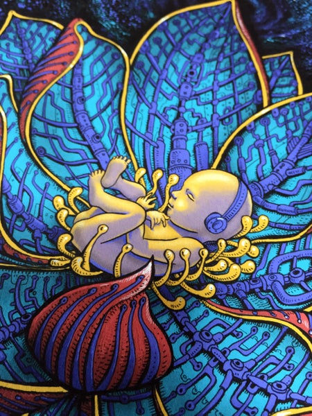 Image of Womb Art Print by Emek