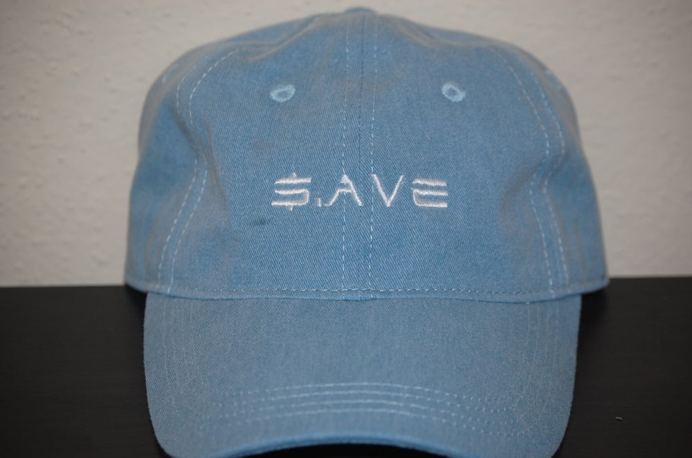 Image of Light Denim $.AVE Hat