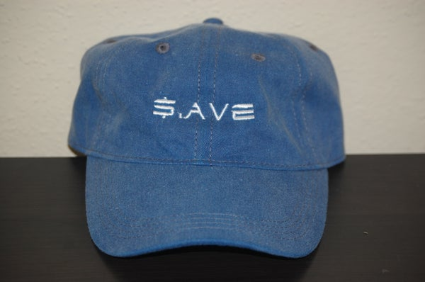 Image of Navy $.AVE Hat