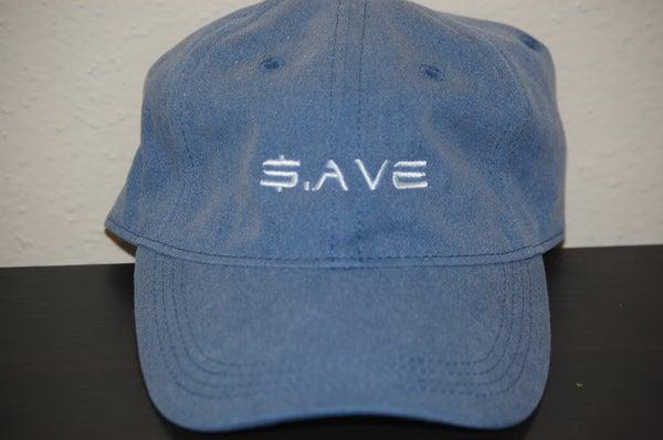 Image of Dark Denim $.AVE Hat