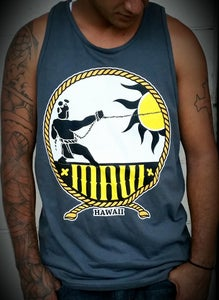Image of Maui Tank Top (charcoal)
