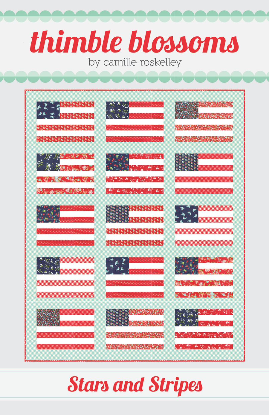 Image of Stars and Stripes  - PDF pattern