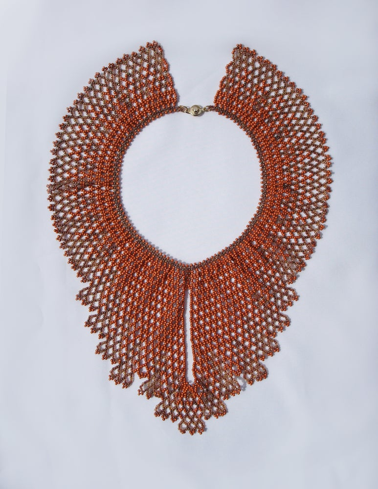 Image of Structured Lace Collar