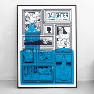 Image of Daughter UK Tour Posters