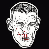 Image of BROKEN FACE Die Cut Sticker