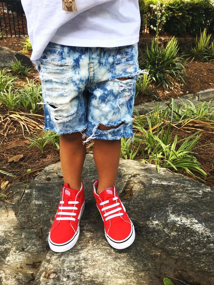 Image of Splashed shorts