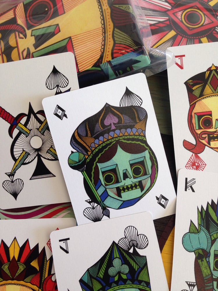 Image of Playing cards.