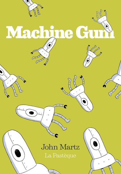 Image of Machine Gum - Signed Book