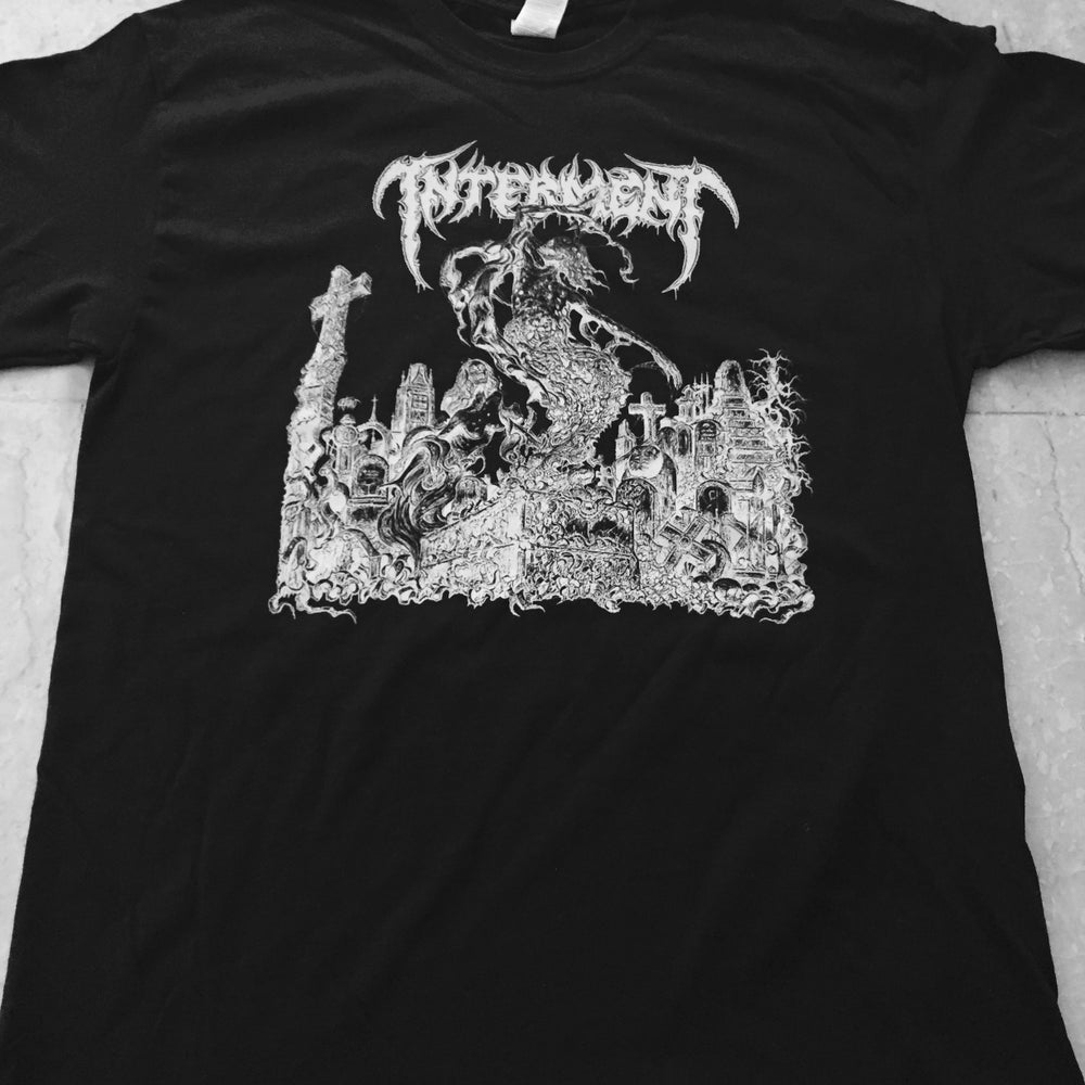 "Image of INTERMENT ""Scent Of The Buried"" Black T-Shirt"