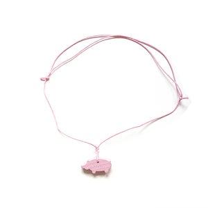 Image of Halskette und Anhänger von COPAINCOPINE - Schwein