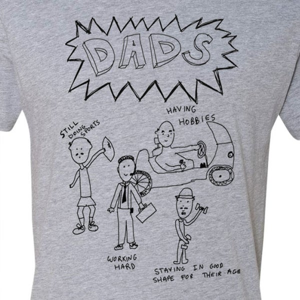 Image of DADS Screen Printed T-Shirt