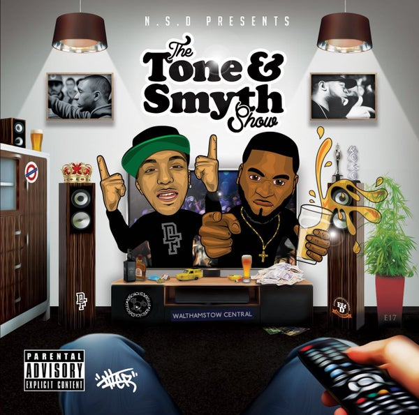 Image of The Tone & Smyth Show Album (Tony-D, Locksmyth)
