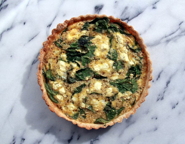 Image of Spinach & Feta Quiche