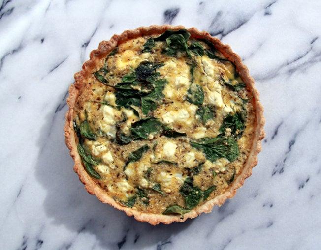 Image of Spinach & Feta Quiche