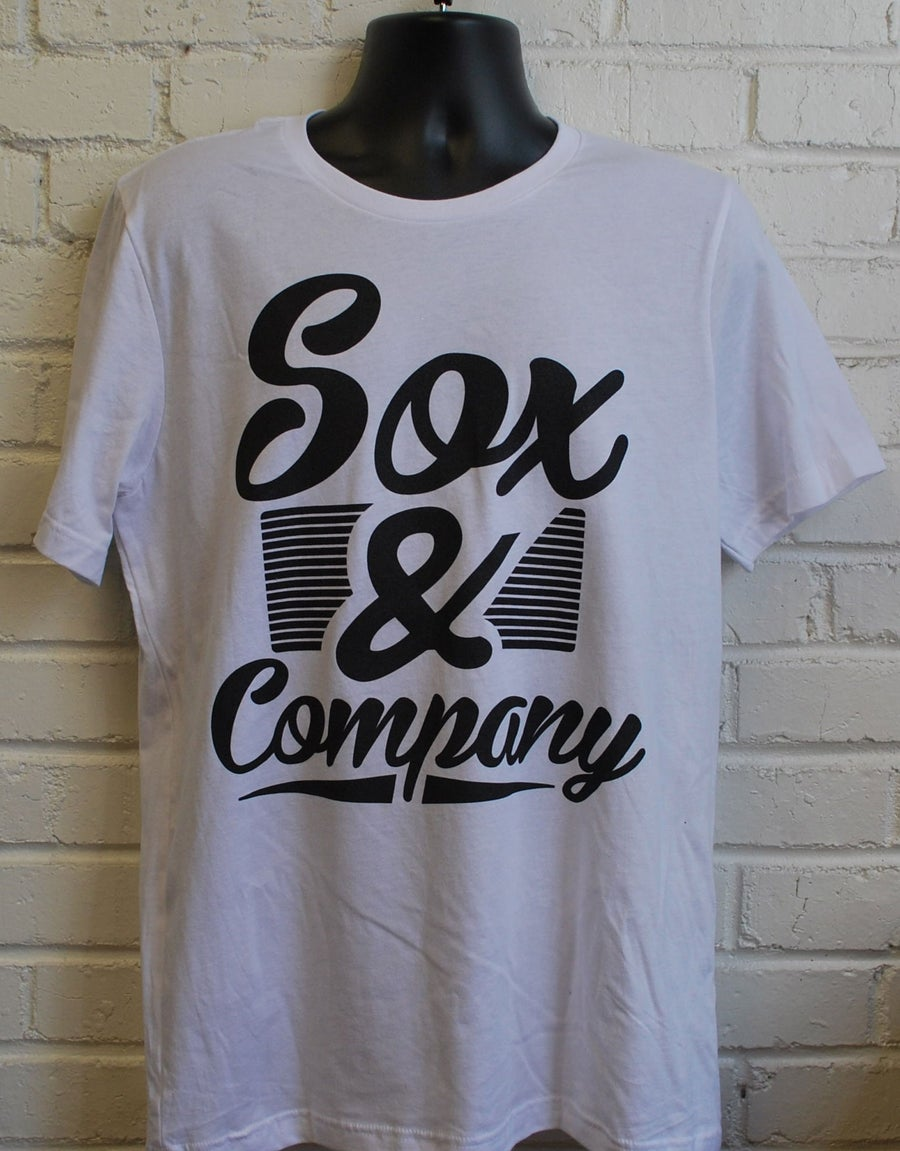 Image of Sox & Company Men's Script Tee