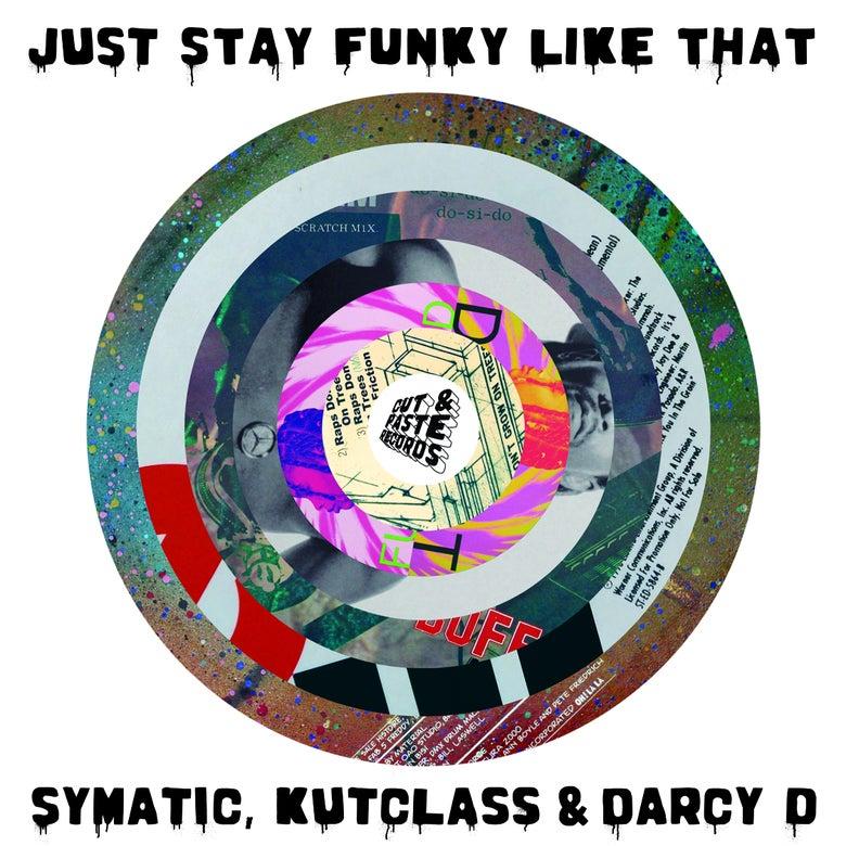 "Image of 7"" VINYL - Just Stay Funky Like Za - Black Vinyl (CNP006)"
