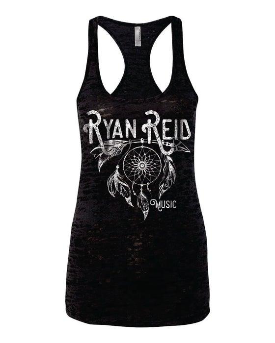 Image of Ryan Reid Dreamcatcher Burn Out Womens Tank