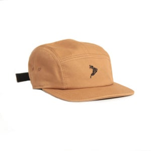 Image of 90East Traitor 5 Panel Hat Workwear Brown