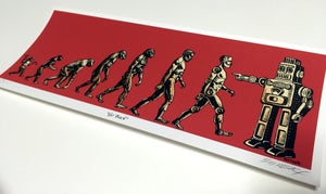 Image of Handbill Go Back by Emek