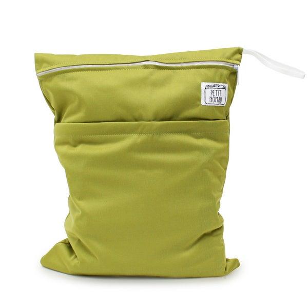 Multipurpose Green Wet Bag LEAF - PETIT NOMAD