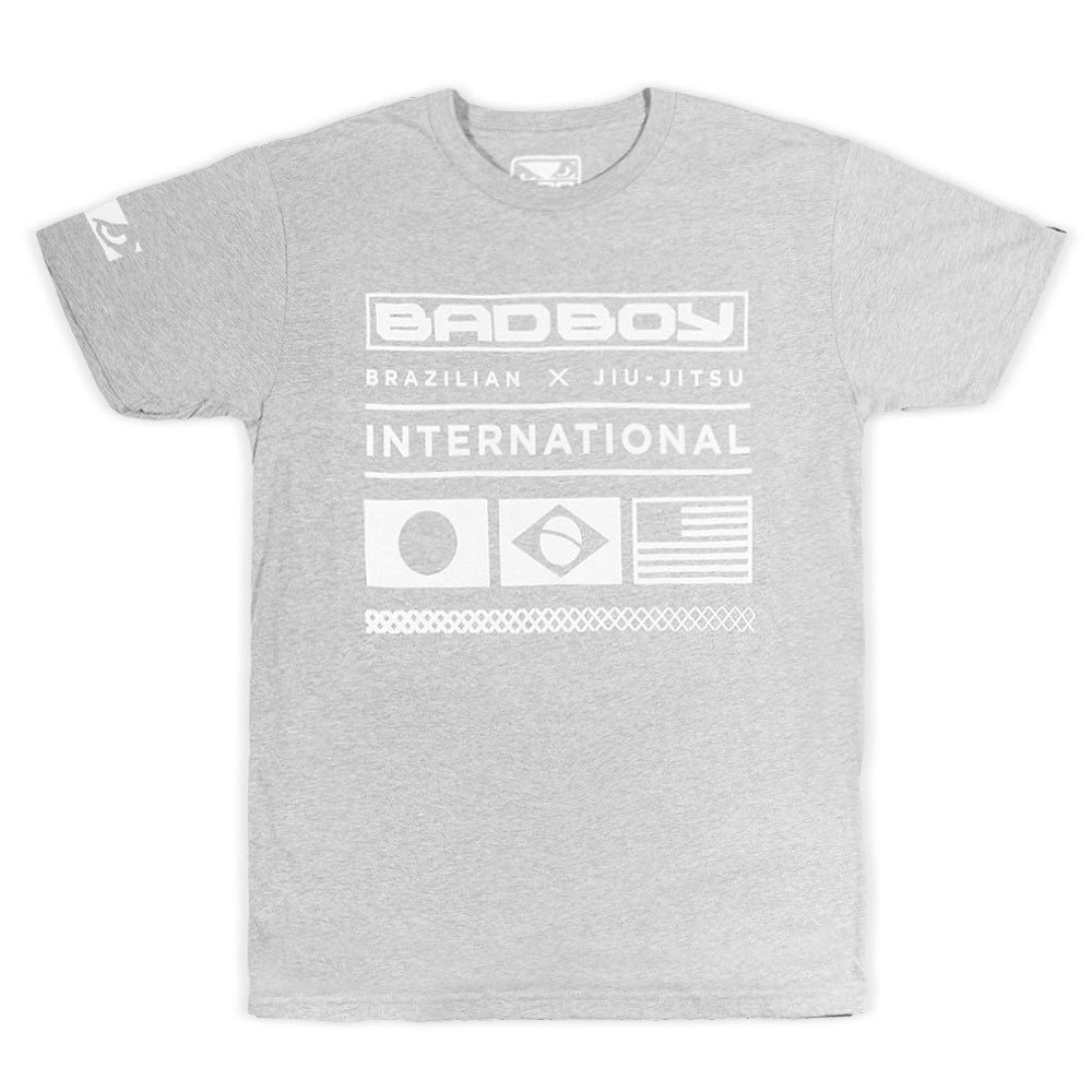 Image of Bad Boy Jiu-Jitsu International Shirt (Gray)
