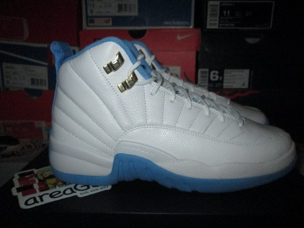 "Air Jordan XII (12) Retro ""University Blue"" GS - areaGS - KIDS SIZE ONLY"