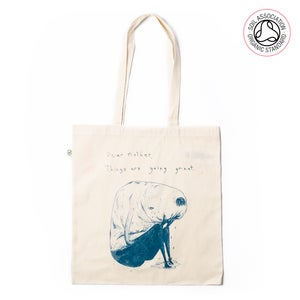 Image of Dear Mother Tote Shopping Bag (Organic)