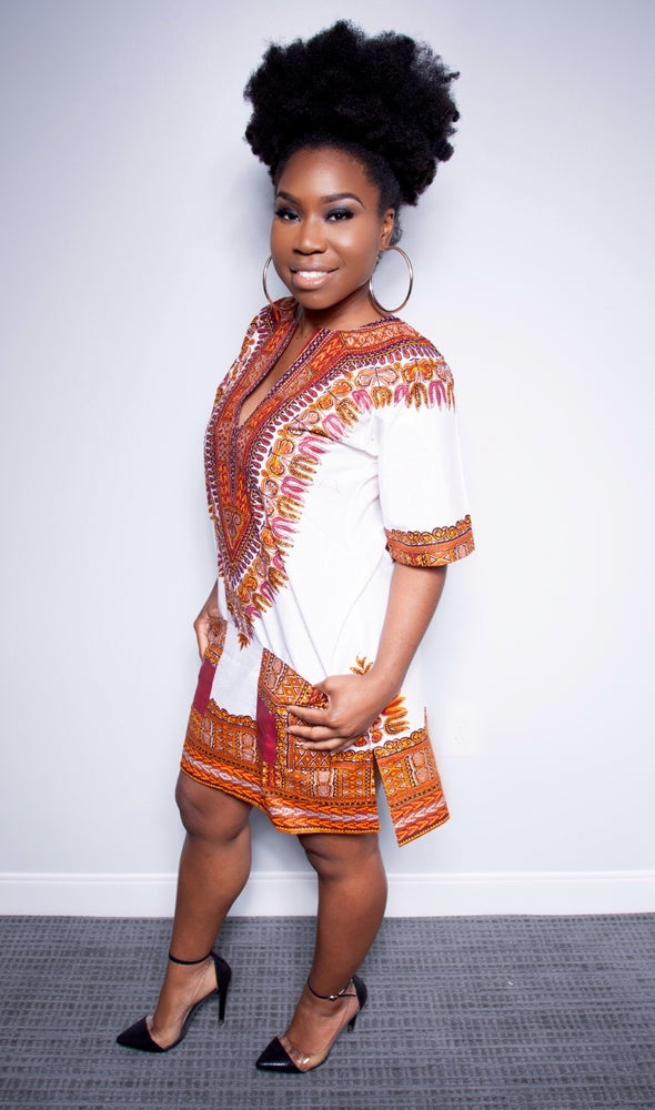 Image of Adalene Stoned Dashiki