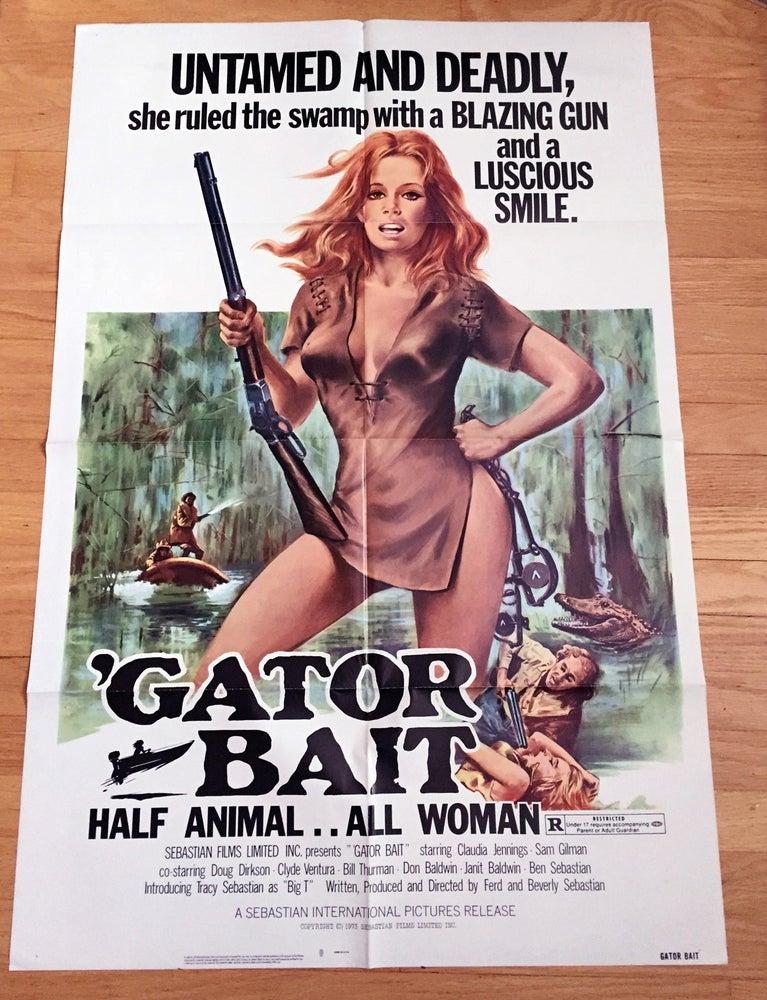 Image of 1974 GATOR BAIT Original U.S. One Sheet Movie Poster