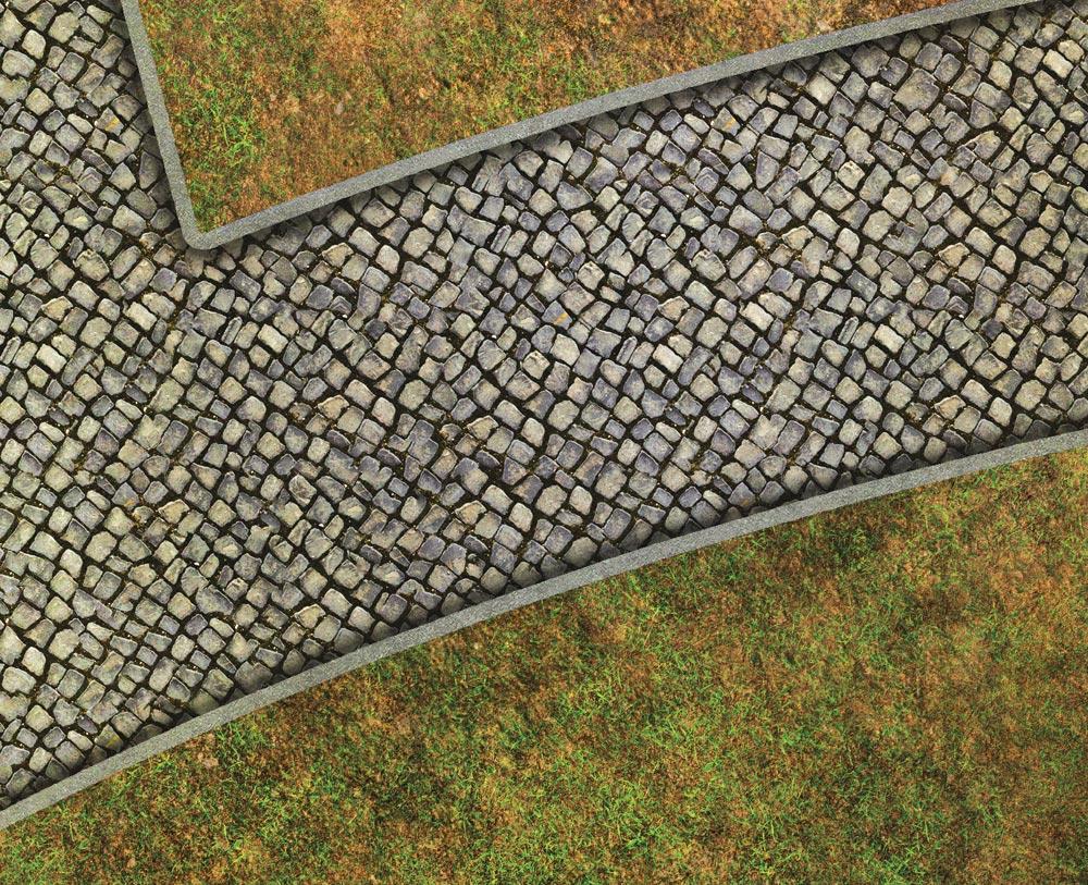 Image of Medieval City - 4'x6' PLUS - #340