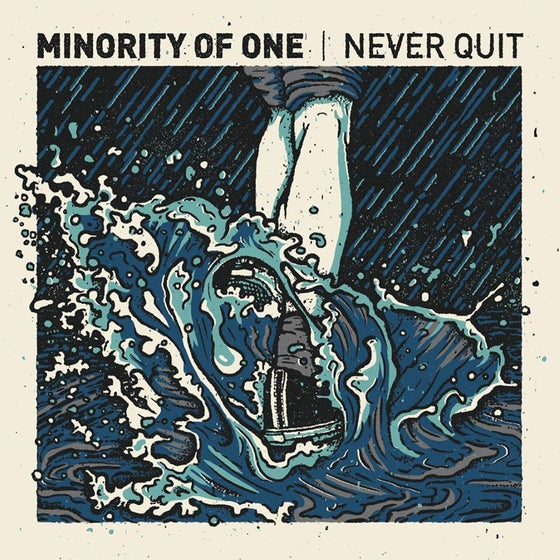 """Image of Minority Of One - Never Quit LP 12"""""""