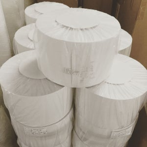 Image of 7cmx200m---Eggshell Paper Roll
