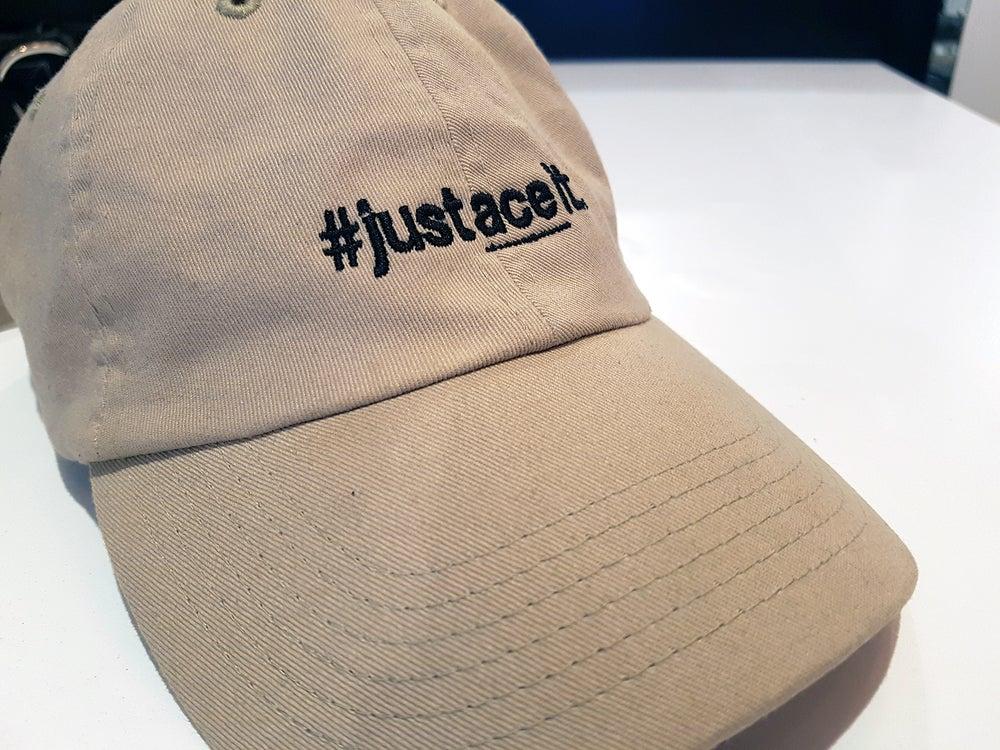 Image of #justaceit Hat - Beige